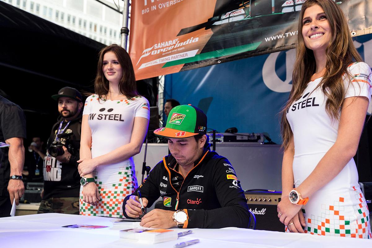 grand prix crescent - GP14-Perez-autographs-1